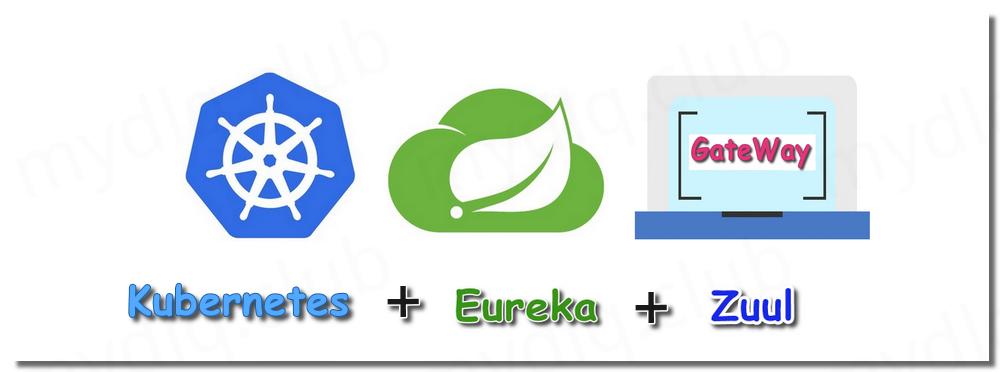 Kubernetes 部署 SpringCloud 网关 Zuul 1.x + Eureka 动态路由